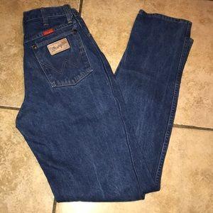 Vintage Wrangler High Waisted Mom Jeans size 26